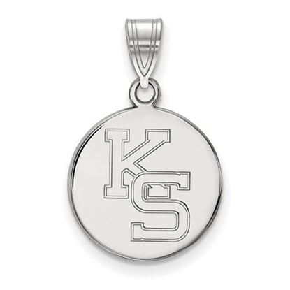 Picture of Kansas State University Wildcats Sterling Silver Medium Pendant