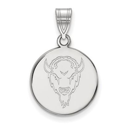 Picture of Marshall University Thundering Herd Sterling Silver Medium Disc Pendant