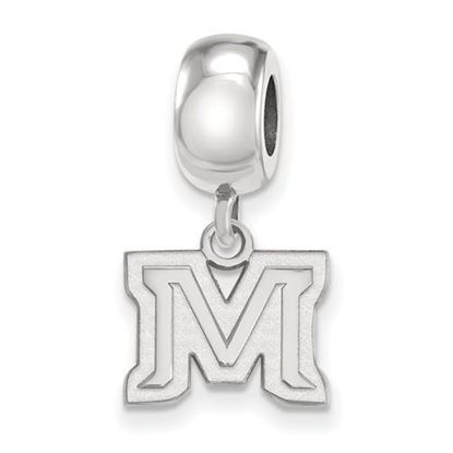 Picture of Montana State University Bobcats Sterling Silver Extra Small Bead Charm