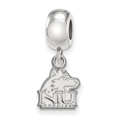 Picture of Northern Illinois University Huskies Sterling Silver Extra Small Bead Charm