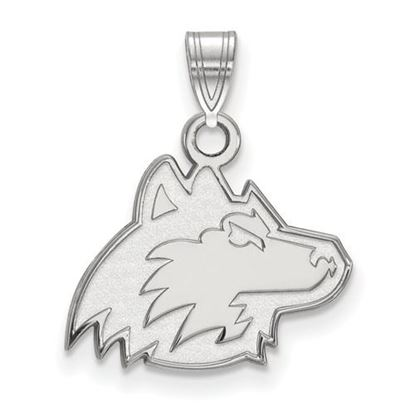 Picture of Northern Illinois University Huskies Sterling Silver Small Pendant