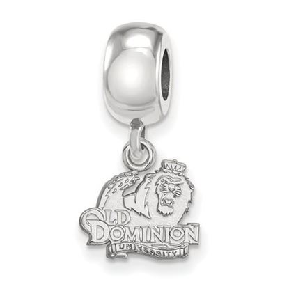 Picture of Old Dominion University Monarchs Sterling Silver Extra Small Bead Charm