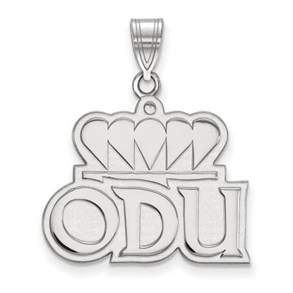 Picture of Old Dominion University Monarchs Sterling Silver Large Pendant