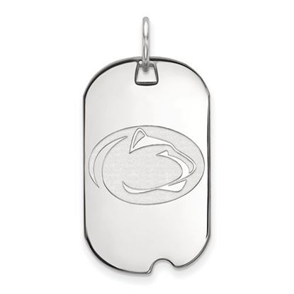 Picture of Penn State University Nittany Lions Sterling Silver Small Dog Tag