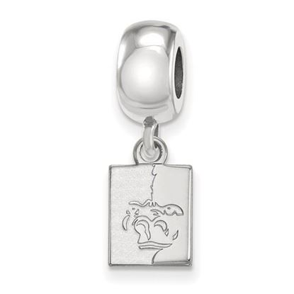 Picture of Pittsburgh State University Gorillas Sterling Silver Extra Small Bead Charm