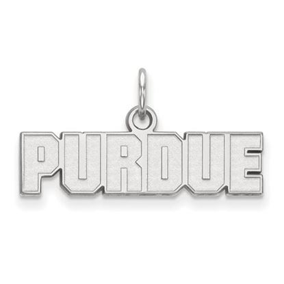 Picture of Purdue University Boilermakers Sterling Silver Extra Small Pendant