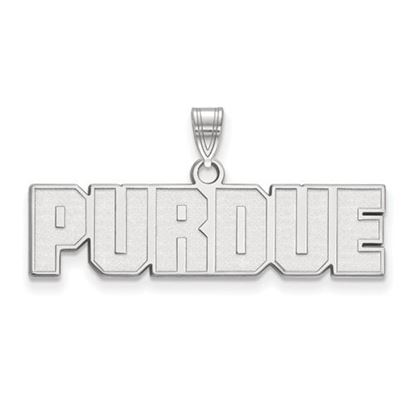 Picture of Purdue University Boilermakers Sterling Silver Small Pendant