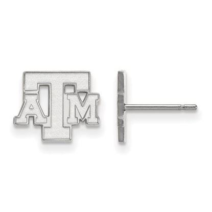 Picture of Texas A&M University Aggies Sterling Silver Extra Small Post Earrings