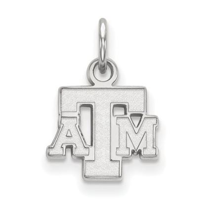 Picture of Texas A&M University Aggies Sterling Silver Extra Small Pendant