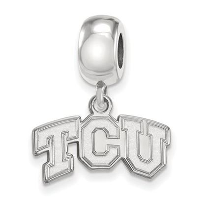 Picture of Texas Christian University Horned Frogs Sterling Silver Extra Small Bead Charm