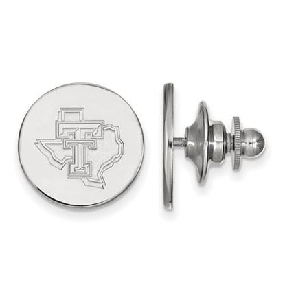 Picture of Texas Tech University Red Raiders Sterling Silver Lapel Pin