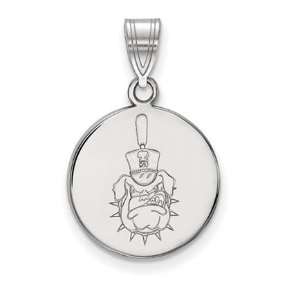 Picture of The Citadel Bulldogs Sterling Silver Medium Disc Pendant