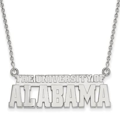 Picture of University of Alabama Crimson Tide Sterling Silver Small Pendant