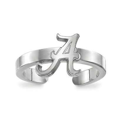 Picture of University of Alabama Crimson Tide Sterling Silver Toe Ring