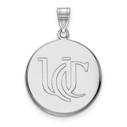 Picture of University of Cincinnati Bearcats Sterling Silver Large Pendant