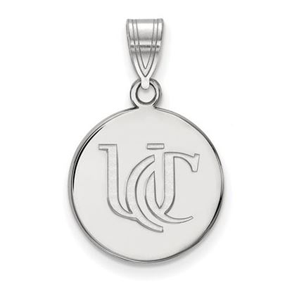 Picture of University of Cincinnati Bearcats Sterling Silver Medium Pendant