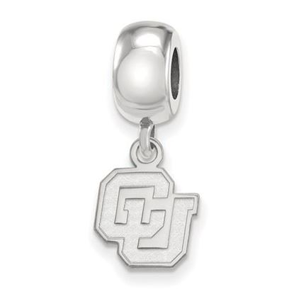 Picture of University of Colorado Buffaloes Sterling Silver Extra Small Bead Charm
