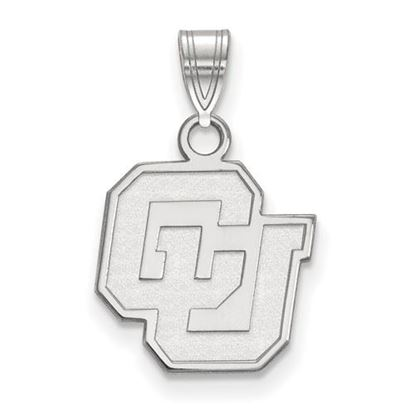 Picture of University of Colorado Buffaloes Sterling Silver Small Pendant