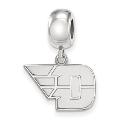 Picture of University of Dayton Flyers Sterling Silver Small Dangle Bead
