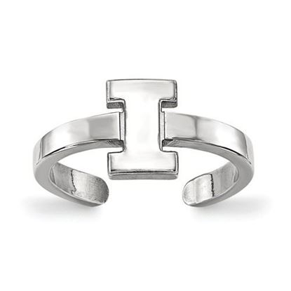 Picture of University of Illinois Fighting Illini Sterling Silver Toe Ring