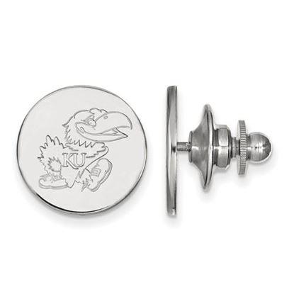 Picture of University of Kansas Jayhawks Sterling Silver Lapel Pin