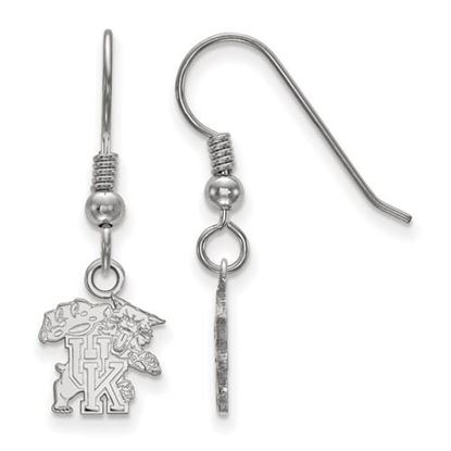 Picture of University of Kentucky Wildcats Sterling Silver Extra Small Dangle Earrings