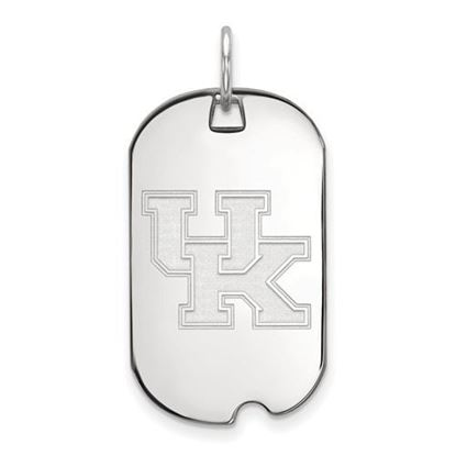 Picture of University of Kentucky Wildcats Sterling Silver Small Dog Tag