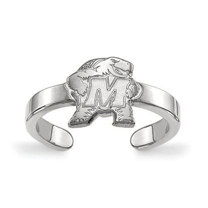Picture of Maryland Terrapins Sterling Silver Toe Ring