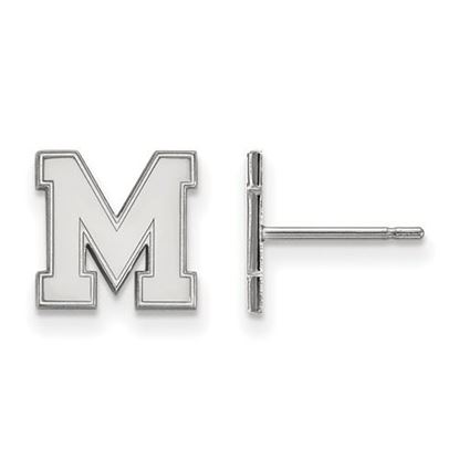 Picture of University of Memphis Tigers Sterling Silver Extra Small Post Earrings