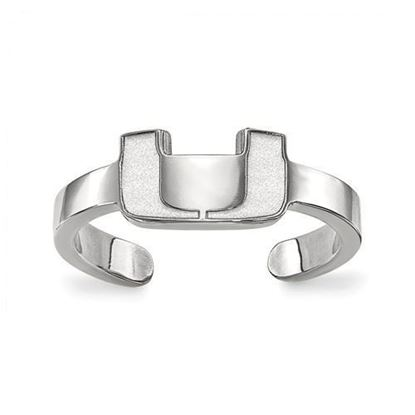 Miami Hurricanes Sterling Silver Toe Ring