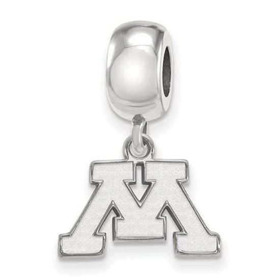Picture of University of Minnesota Golden Gophers Sterling Silver Extra Small Bead Charm
