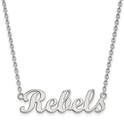 Picture of University of Mississippi Rebels Sterling Silver Small Necklace