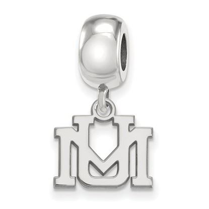 Picture of University of Montana Grizzlies Sterling Silver Extra Small Bead Charm