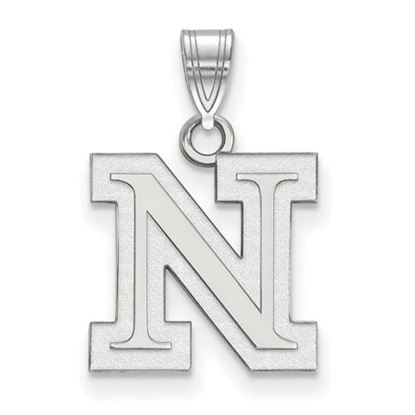 Picture of University of Nebraska Cornhuskers Sterling Silver Small Pendant