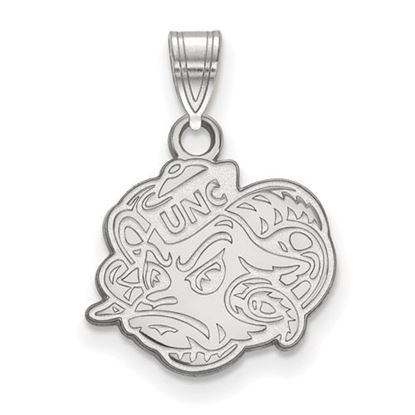 Picture of University of North Carolina Tar Heels Sterling Silver Small Pendant
