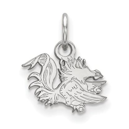 Picture of University of South Carolina Gamecocks Sterling Silver Extra Small Pendant
