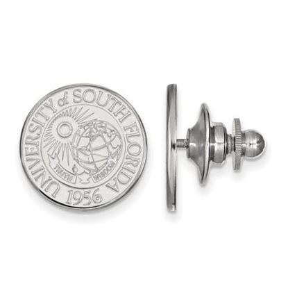 Picture of University of South Florida Bulls Sterling Silver Crest Lapel Pin
