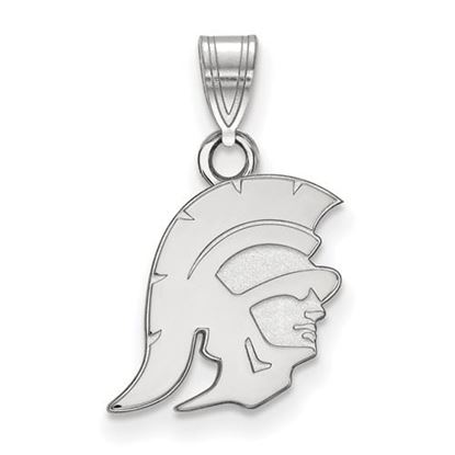 Picture of University of Southern California Trojans Sterling Silver Small Pendant