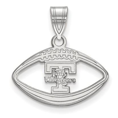 Picture of University of Tennessee Volunteers Sterling Silver Football Pendant