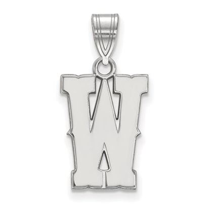 Picture of University of Wyoming Cowboys Sterling Silver Medium Pendant