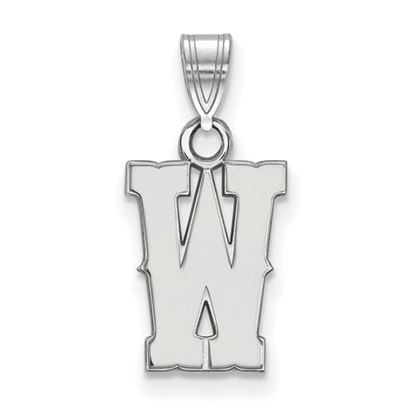 Picture of University of Wyoming Cowboys Sterling Silver Small Pendant