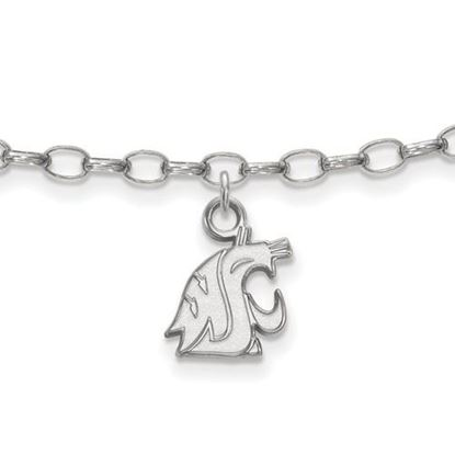 Picture of Washington State University Cougars Sterling Silver Anklet