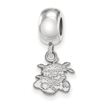 Picture of Wichita State University Shockers Sterling Silver Extra Small Bead Charm