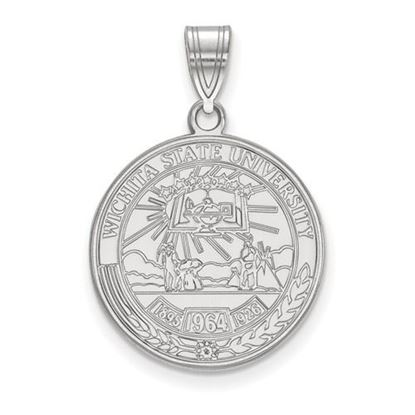 Picture of Wichita State University Shockers Sterling Silver Large Crest Pendant