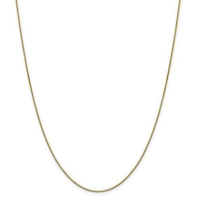 18 Inch Gold-Plated .8mm Box Chain
