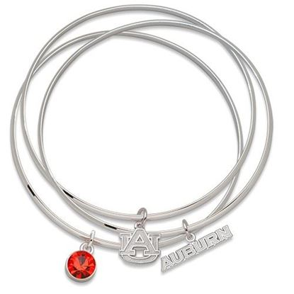 Picture of Auburn University Tigers Bracelet Set With Charms
