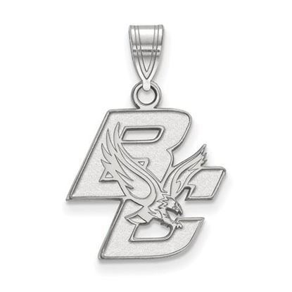 Picture of Boston College Eagles Sterling Silver Medium Pendant