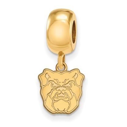 Picture of Butler University Bulldogs Sterling Silver Gold Plated Extra Small Dangle Bead Charm
