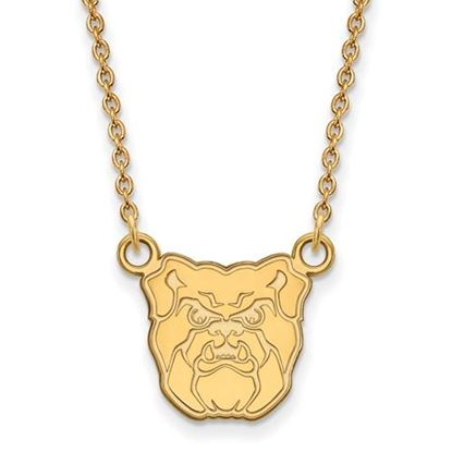 Picture of Butler University Bulldogs Sterling Silver Gold Plated Small Necklace