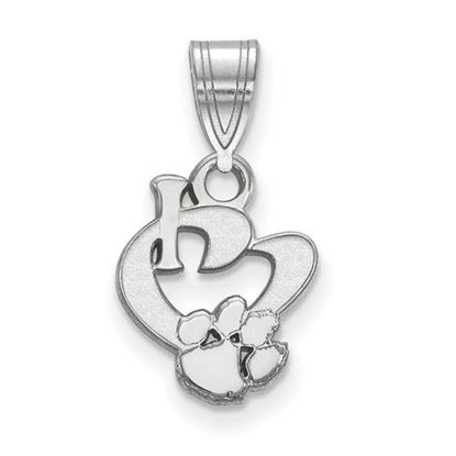 Picture of Clemson University Tigers Sterling Silver Small Pendant